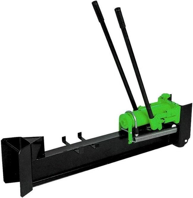 astilladora de leña hidráulica manual horizontal