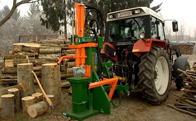 Astilladora de leña para tractor Galicia